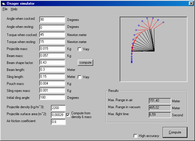 Onager Simulator